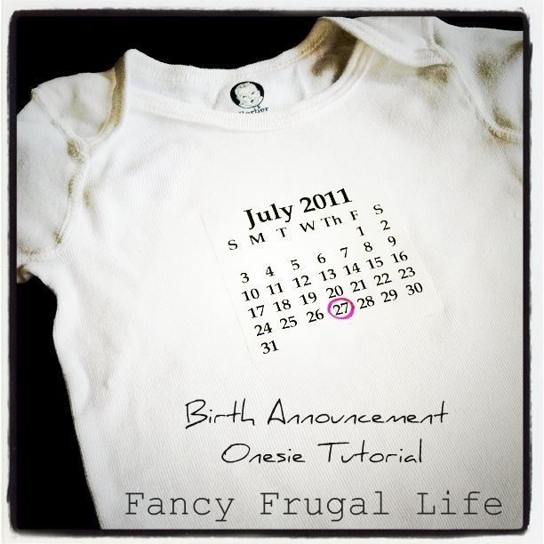 Baby Gift Announcement : My favorites link up party design dazzle