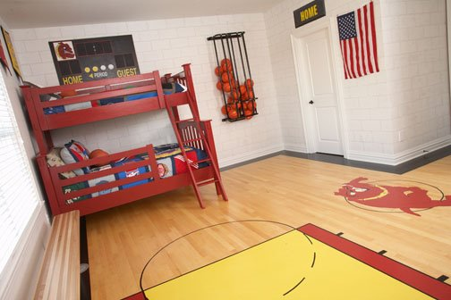 cool basketball bedroom design dazzle