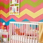 Chevron Pattern In Kids Rooms
