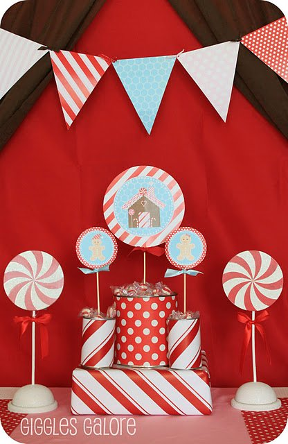Gingerbread Decorating Party featured on Design Dazzle
