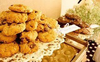 Baby Showers: Garden Spa Theme & Cookies & Milk
