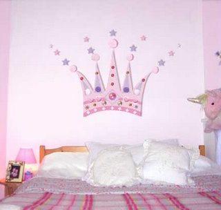 DIY -Princess Crown Mural