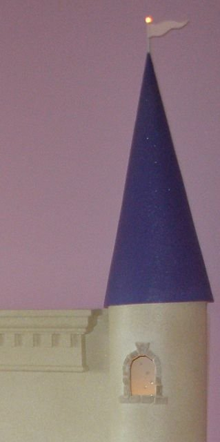 make your own castle headboard