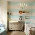 Striped Baby Nursery