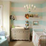 Striped Baby Nursery