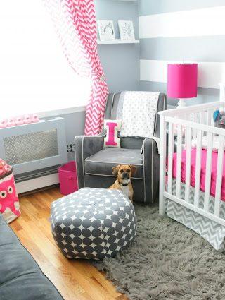 Dazzling Contemporary Nursery