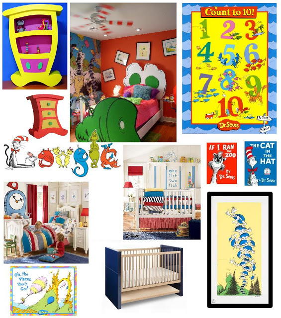 room ideas Dr Seuss