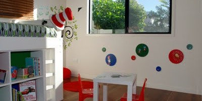 Bright Colorful Boy's Room