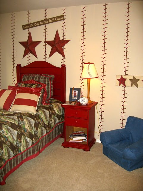 baseball bedroom ideas take me out to the boys room design dazzle 10174