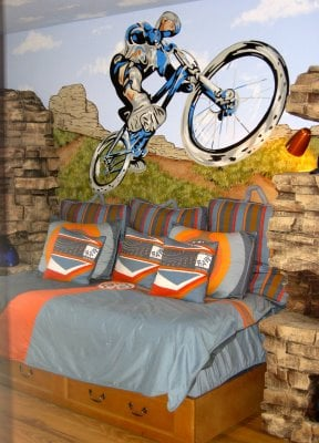 motocross boys room design dazzle