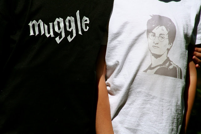 Make your own Harry Potter shirt