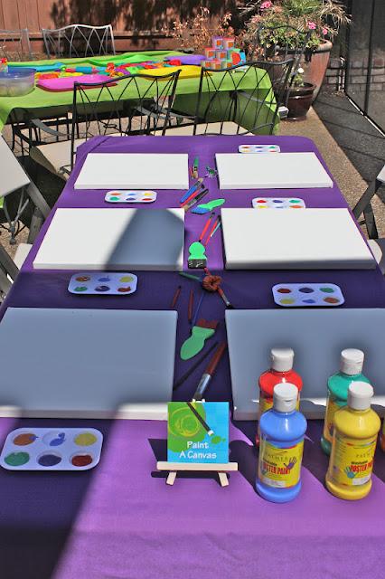 Kids Art Party Design Dazzle