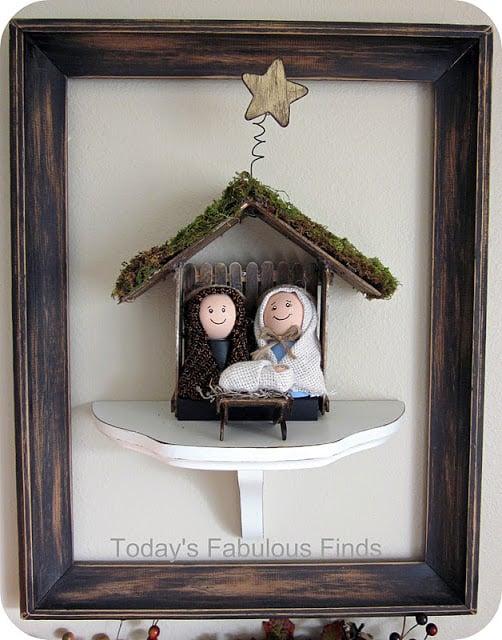 Beautiful DIY Nativity featured on Design Dazzle