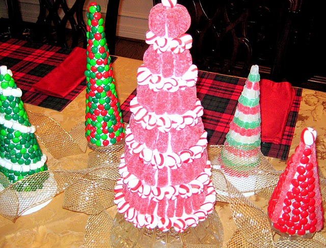 DIY Christmas Candy Trees Featured on Design Dazzle