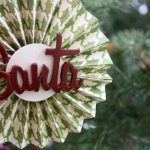 Christmas Paper Medallion Ornaments