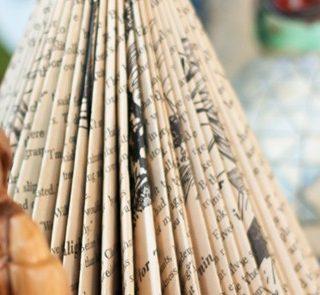 Christmas Wonderful: Folded Book Christmas Trees