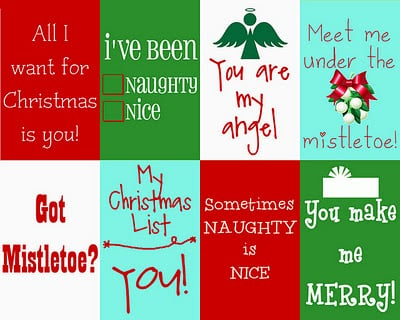 Christmas Messages {Free Printables} featured on Design Dazzle