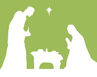 Nativity Silhouette {Free Printable} Featured on Design Dazzle