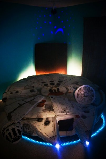 Star Wars Kids Rooms, millineum falcon, star wars