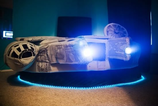 Star Wars Kids Rooms, millenium falcon, star wars