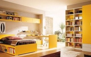Yellow for Tween and Teen Boys Rooms