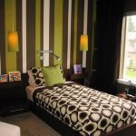 Green and Brown Teen Room