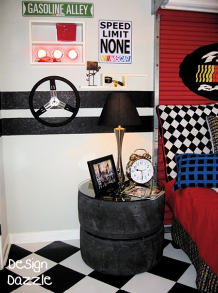 Ideas For Car Themed Boys Rooms Design Dazzle - Car themed bedrooms