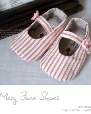 Sew Some Too Cute Baby Shoes!