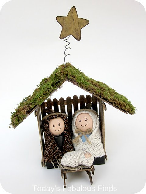 Make your own Children's Nativity Set Featured on Design Dazzle