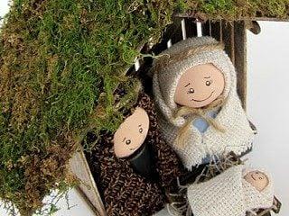 Make Your Own Childrens' Nativity Set!