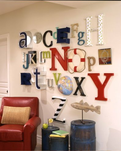 Decorative Letters For Kids Room Of Clever Wall Decor Design Dazzle