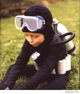 Kids Costume Ideas - Scuba Diver