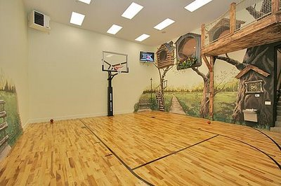 Cool basketball courts basketball scores for Build your own basketball court