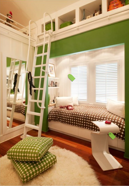 Small spaces great places design dazzle - Images of beds in small spaces ...
