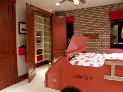 fire station boys bedroom design dazzle