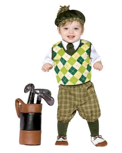 Kids Costume Ideas - Future Golfer