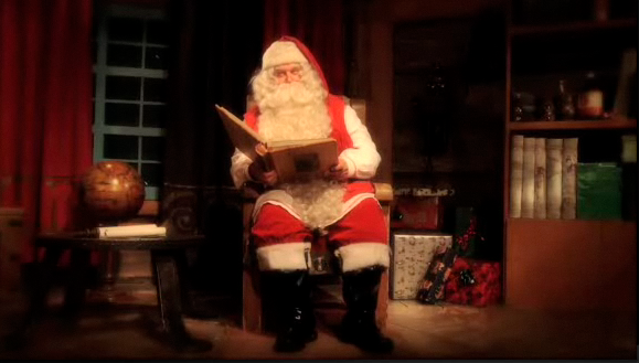 Santa Video Message personalized for you child featured on Design Dazzle
