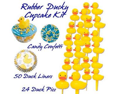 Rubber Ducky Baby Shower Design Dazzle