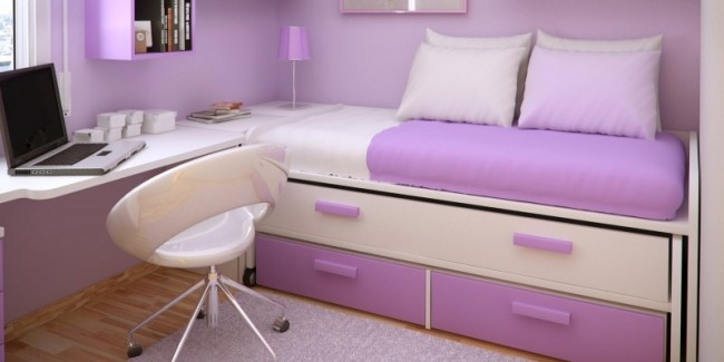 Girls tween room archives design dazzle - Little girl purple bedroom ideas ...