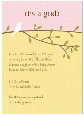 Personalized Invitations/Announcements Giveaway – CLOSED