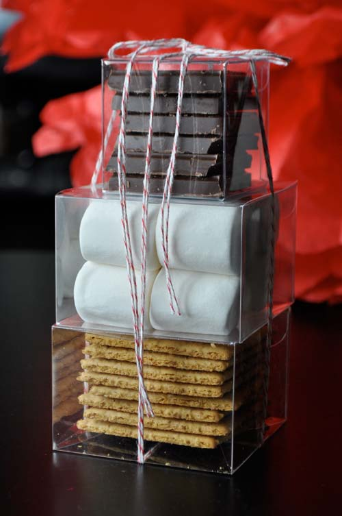S'mores Kit {Christmas Gift Ideas} featured on Design Dazzle