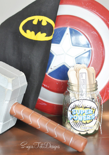 Creative Ideas for those bored summer kids! Super Heroes boredom busters! This is so clever!