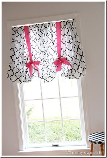 No Sew Window Treatment Using A Sheet Design Dazzle