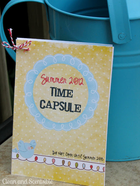 Summer Time Capsule! Kids will love this idea!