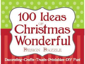 100 ideas of Christmas Wonderful - Design Dazzle