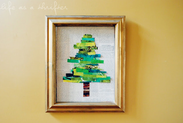 Christmas Tree Collage featured on Design Dazzle