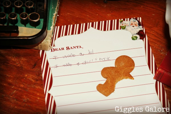 Letter to Santa Party featured on Design Dazzle