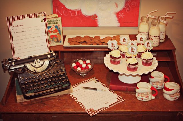 Create a memorable night with a Letters to Santa party featured on Design Dazzle!