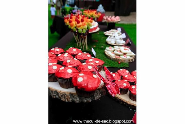 Woodland Fairy Birthday Party, woodland, fairies, dessert table, cupcakes