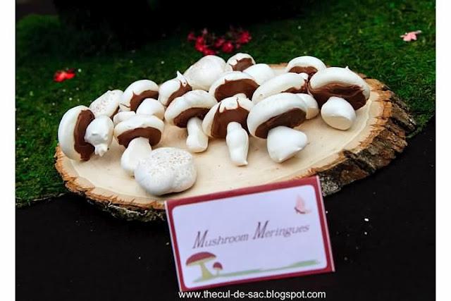 Woodland Fairy Birthday Party, dessert, mushrooms, fairies